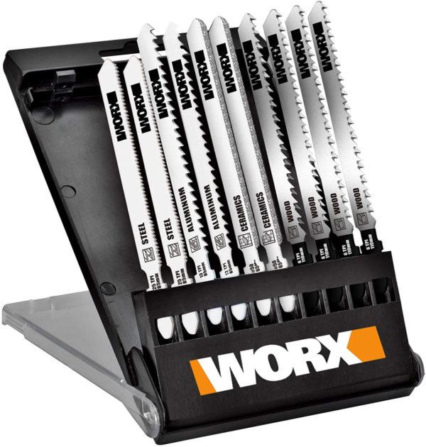 Набор пилок для лобзика WORX WA8106 10 шт