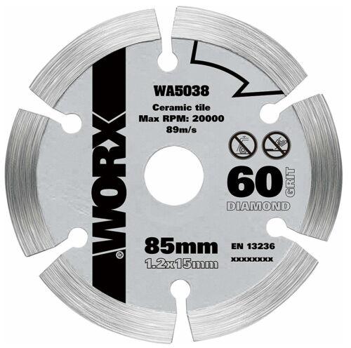 Пильный диск алмазный WORX WA5038