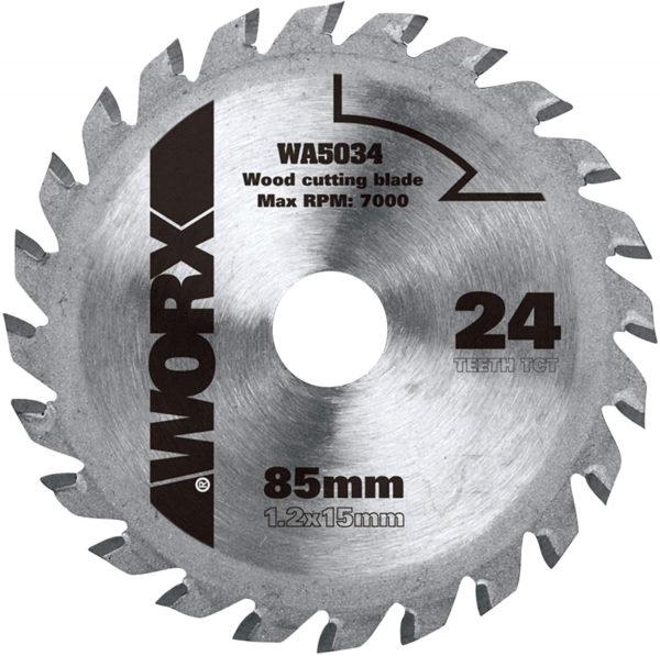 Пильный диск твердосплавный WORX WA5034 24Т ТСТ
