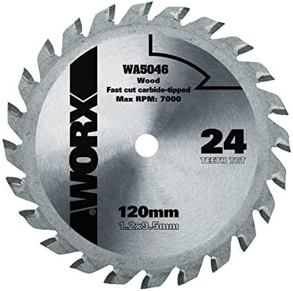 Пильный диск твердосплавный WORX WA5046 24T TCT