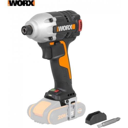 Винтоверт ударный Бесщеточный аккумуляторный WORX WX261.9 20В, без АКБ и ЗУ