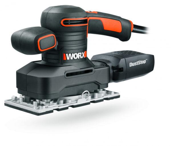Виброшлифмашина WORX WX641 220V 250Вт электрическая