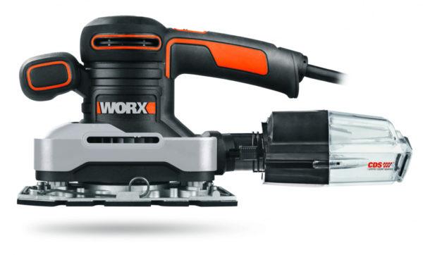 Виброшлифмашина WORX WX642.1 220V 270Вт электрическая